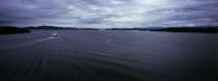 Utsikt norover fra Austevollsbrua