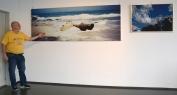to bilder og fotografen, utstilling på Fana kulturhus.